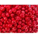 Perle 3mm Rouge, lot de 170 environ