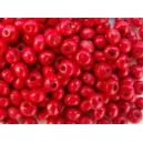 Perle 3mm Rouge, lot de 170 environ