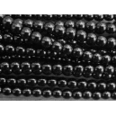 Perle 4mm Noir - Lot de 50