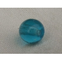 perle 6mm Bleu Aigue-marine foncée - Lot de 10 perles