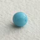 Perle 6mm Bleu ciel - Lot de 10 perles