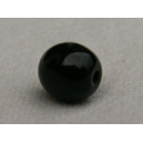 Perle 6mm Noir - Lot de 10 perles