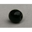 Perle 6mm Noir - Lot de 10 perles