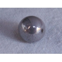 perle 8mm Gris lustré