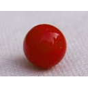 Perle 8mm Rouge Corail