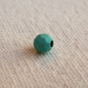Facette 4mm Howlite Turquoise