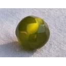 Perle à facettes ronde 8mm Olivine