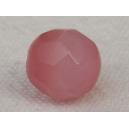 Perle à facettes ronde 8mm Rose