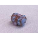 Perle cylindrique 6x9 Bleu lavande