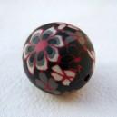 Perle 25mm Noir
