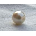 Perle nacrée 6mm Ivoire Lot de 10
