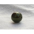 Perle nacrée 6mm Kaki lot de 10