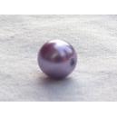 Perle nacrée 6mm Parme lot de 10