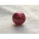 Perle nacrée 6mm Rose tyrien Lot de 10