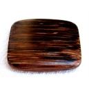 Perle plate 25x25 bois de Patikan