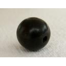 Perle ronde 10mm en bois de Kamagong