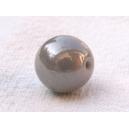 Perle 10mm Gris lustré