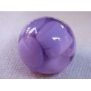 Perle ronde 15mm Parme
