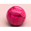 Perle ronde 15mm Rose Fuchsia