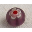 Perle ronde 7mm Améthyste