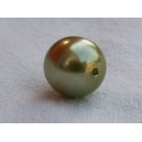 Perle ronde 8mm Chrysolite