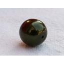 Perle ronde 8mm Kaki