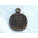 Pièce alexander 15mm bronze