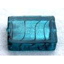 Rectangle 20x15 Bleu Zircon