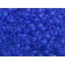 Rocaille Bleu Cobalt dépoli 1.5mm
