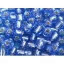Rocaille Bleu Hortensia brillant 4mm