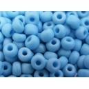 Rocaille Bleu Turquoise clair dépoli 4mm