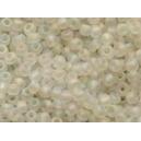 Rocaille Cristal dépoli irisé 1.5mm