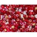 Rocaille mélange rouge 1.5mm