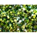 Rocaille Mélange vert 1.5mm