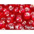 Rocaille Rubis Brillant 4mm