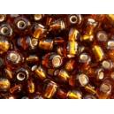 Rocaille Topaze brillant 4mm sachet de 10gr environ