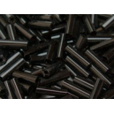 Rocaille tube 1.5x7mm Noir
