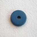 Rondelle 12mm Bleu Denim