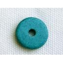 Rondelle 12mm Bleu zircon