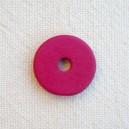 Rondelle 12mm Rose Camélia