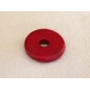 Rondelle 12mm Rouge Magenta