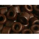 Rondelle 6x4 Chocolat Lot de 50