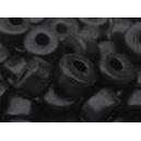 Rondelle 6x4 Noir - Lot de 50