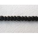 Rondelle coco 03-4mm Noir - Fil de 40cm