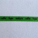 Ruban message Vert 7mm - 1 mètre