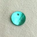 Sequin 13mm Bleu zircon