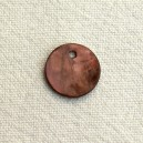 Sequin 13mm Marron