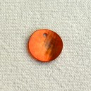 Sequin 13mm Orange
