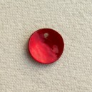 Sequin 13mm Rouge