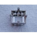 Sertissure carrée 10x10 argenté